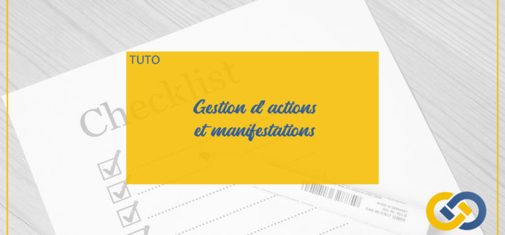 MYASSOC ACADEMY: GESTION D'ACTIONS/ MANIFESTATIONS