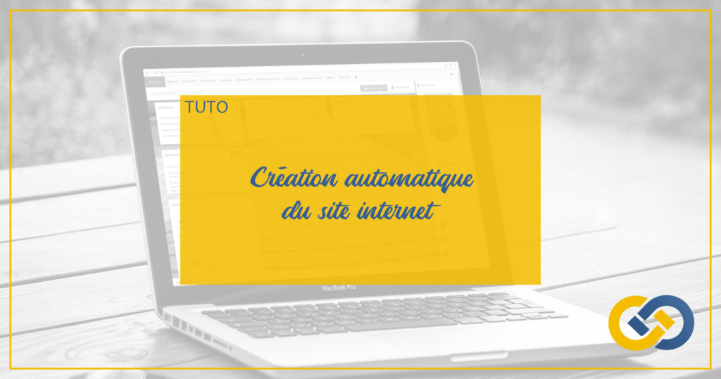 header création site internet