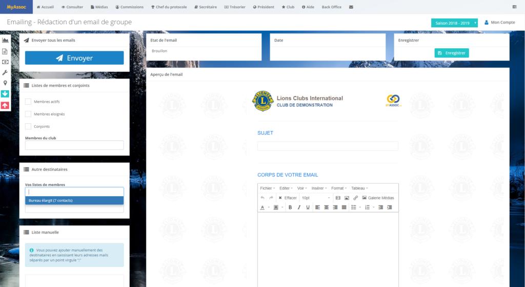 Photo écran emailing_communication