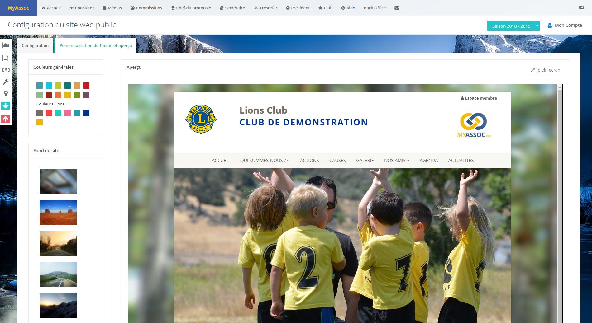Photo écran site web_communication