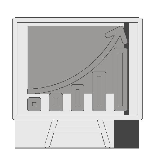 Icône statistiques