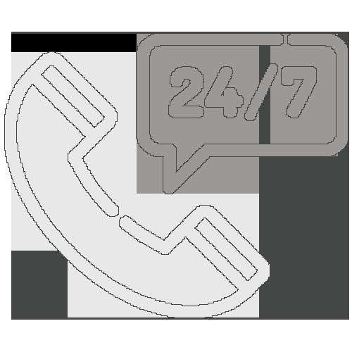Icône support téléphonique