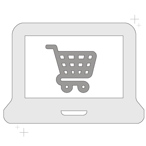 Icône boutique en ligne
