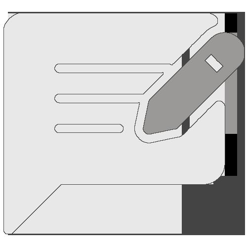 Icône remontée des informations
