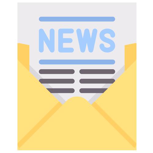 Icône newsletter