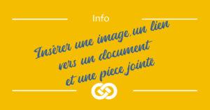 header - insérer image lien et PJ