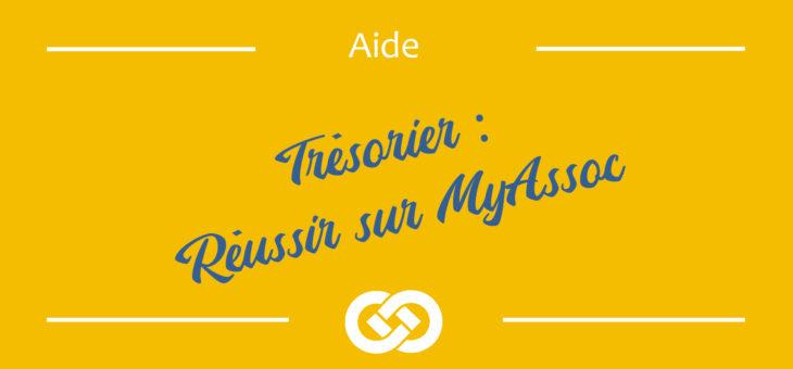 Trésorier – 10 étapes pour bien commencer sur MyAssoc